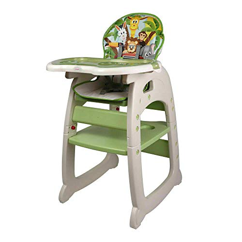 Walgreen® Green 3 in 1 Baby Highchair Multi Functional Baby Kids High Chair...