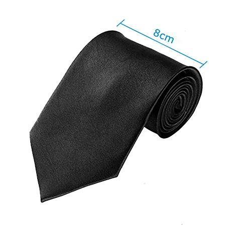 Men's Roaring 1920s Gangster Costume - Deluxe Manhattan Fedora Hat,Suspenders Y-Back Elastic Trouser Braces & Pre Tied Bow Tie,Gangster Tie & Fake Mustache (OneSize, BlackHat & BlackSuspenders)