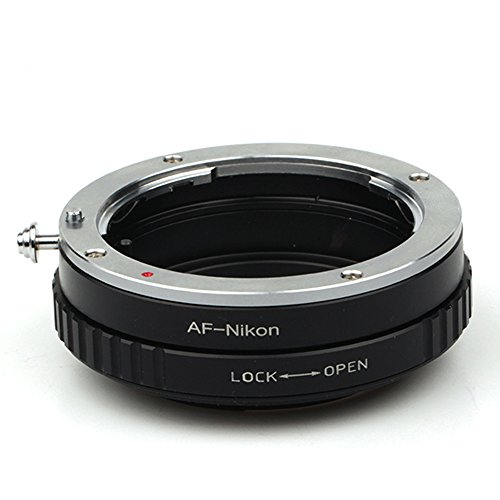 Pixco Adaptador de lente para Macro Sony Alpha AF Minolta MA Objetivo a Nikon AI F D610 D750 D800 D7000