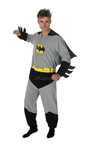 BATMAN ~ Onesie - Adult Onesie Costume Man: S (34-36