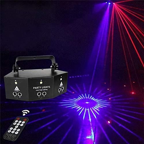 Professional New Nine Eye Strobe Light, Party Light DJ Disco Lights- Lichteffekt Bühnenbeleuchtung Party Licht Deko mit Fernbedienung zum Tanzen Weihnachten Geschenk KTV Bar Geburtstag