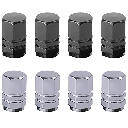 8 Tapas de válvula de neumático de Coche, Tapas de válvula de...