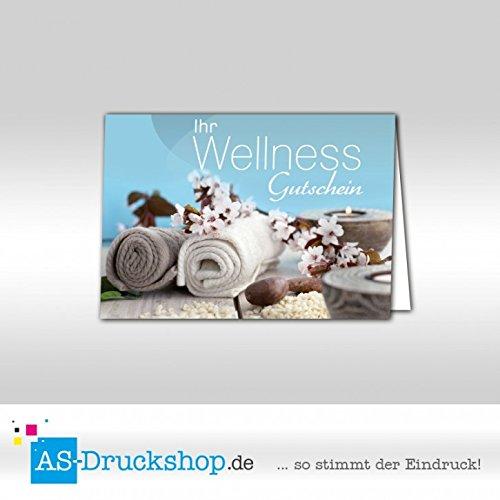 Tegoedbon Wellness - handdoek / 25 stuks/DIN A6