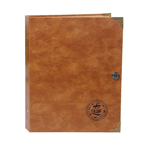 A0ZBZ Álbum de colección de 150 Monedas + 240 Libro de colección de Billetes de Moneda Libro de Almacenamiento Grande para coleccionista