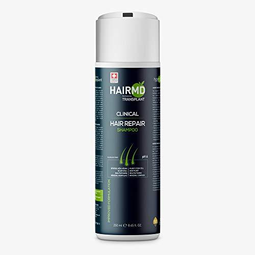HairMD-Transplant Clinical Hair Repair Shampoo 250 ml-Prevent Hair Loss & Promote New Hair Growth-%100 Improved Formula