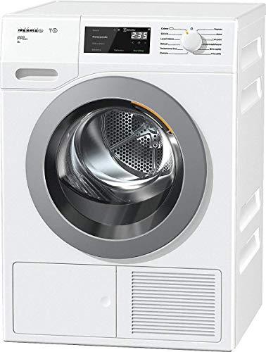 Miele TCH 630 WP Asciugatrice Libera Installazione a Pompa di Calore, 1.63 W, 9 kg, 64 Decibel, Chrome