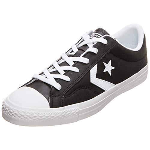 Converse Lifestyle Star Player Ox', Zapatillas Hombre, Negro (Black/White/White 083),...
