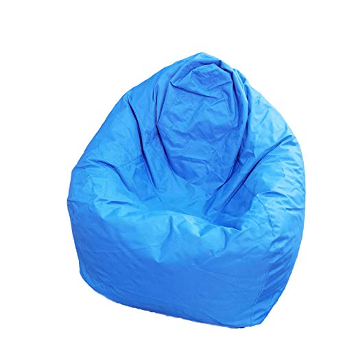 N /C Classic - Funda para sillones de sofá (1 tamaño), diseño de perezoso para casa, suave y acogedor, para niños y adultos, color azul, talla única)