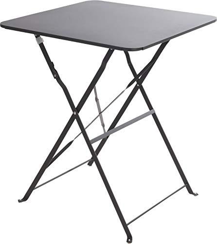 Klapptisch Campingtisch Gartentisch Falttisch Beistelltisch Dunkelgrau C880