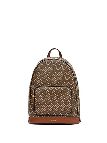 Luxury Fashion | Burberry Heren 8022543 Bruin Leer Rugzak | Lente-zomer 20