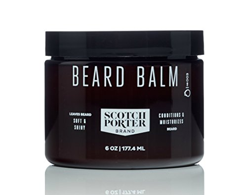 Scotch Porter - All Natural Men's Beard Balm - 6 oz.