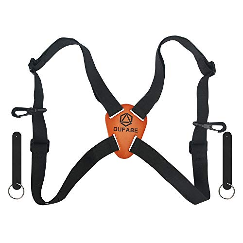 Binocular Strap, Binocular Harness, Adjustable and Deluxe Straps for Binoculars, Cross Shoulder Strap, Fits for Carrying Binocular, Cameras, Rangefinders and More