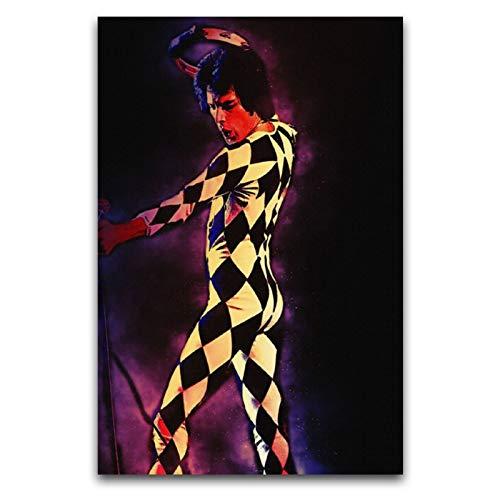 WPQL Disfraz de cebra de Freddie Mercury Queen Lead Cantante Selección de...