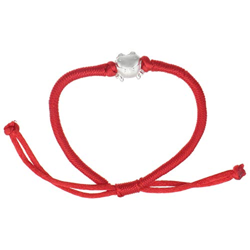 Holibanna Lucky Red Bracelet Handmade Fortunate Buddhist Adjustable String Thread Chinese Oxen Zodiac Year Braided Friendship Rope Bracelet for Prosperity and Success