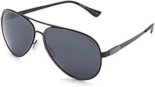 نظارة شمسية للجنسين مقاس 59 ملم من تي اف ال - اسود