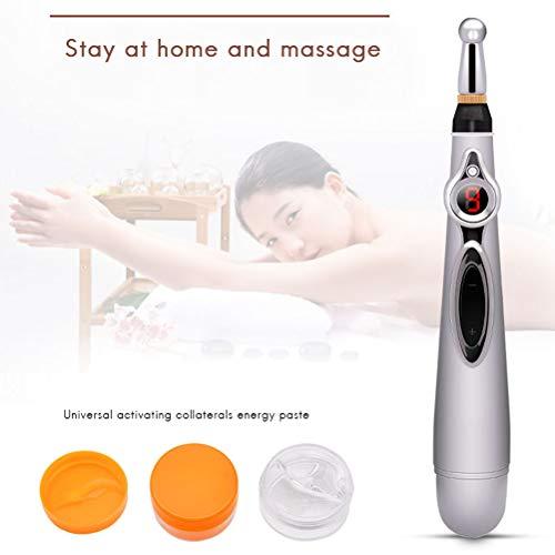 Elektrischer Akupunktur Stift, Elektronische Akupunktur Pen Meridian Energie Massagegerät Schmerzen Therapie Heilen Massage Pen Schmerzlinderung Werkzeuge Stift