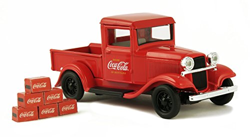 1/43 1934 Ford Model A Pickup with 6 Bottle Cartons