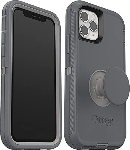 OtterBox Carcasa para iPhone 11 PRO de Pop Defender, sin embalaje de venta al por menor, color gris