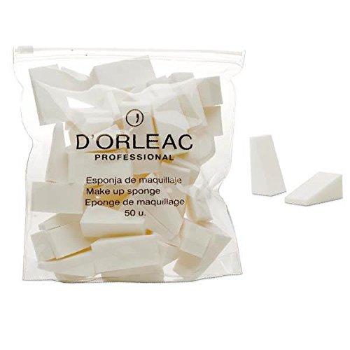 D'orleac, éponge pour maquillage visage – 3 de 50 unités (total : 150 unités)