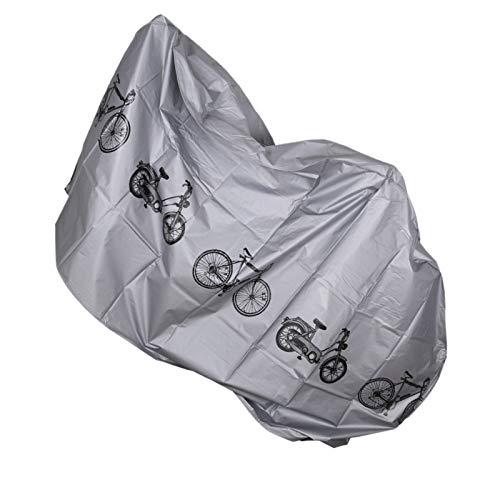 DIYARTS Cubierta Protectora Universal para Bicicleta Cubierta Impermeable para Bicicleta al Aire Libre Protector para Montar en Bicicleta MTB Bicicleta de montaña Cubierta Protectora antirrayas para