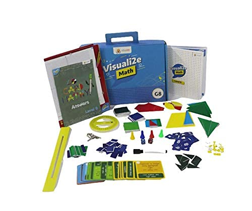 Sparklebox Math Learning Kit for Grade 8   29 Fun Activities for Hands On Learning   Age 12 Years and Above.