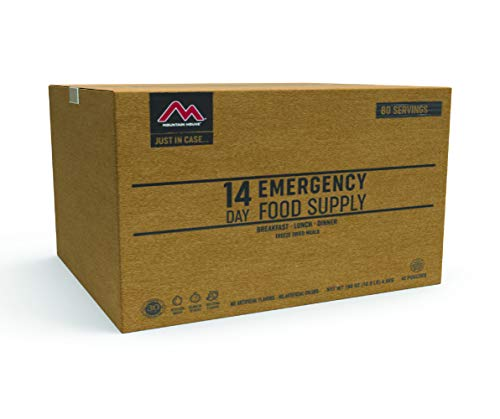 Mountain House 14-Day Emergency Food Supply | Freeze Dried Survival & Emergency Food | 80 Servings