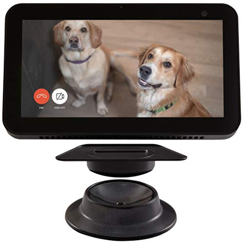 Made for Amazon Tilt + Swivel Stand for the Echo Show 8 - Black
