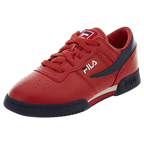 Fila boys Fila Original Fitness Little Kids Sneaker, Fila Red/Fila Navy/White, 11.5 Little Kid US