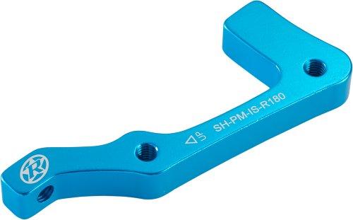Reverse Adaptador de Frenos de Disco Shimano IS de PM 180Trasera Color Azul Claro