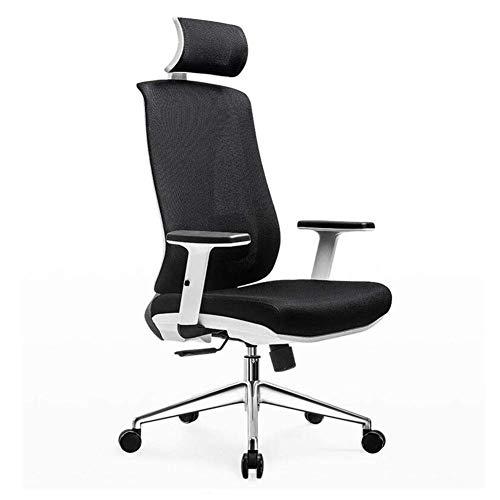 WSDSX Sedie per Il Tempo Libero Sedia da Ufficio Sedia direzionale Funzione inclinazione Poggiapiedi Sedia Girevole Bracciolo Regolabile Poggiatesta Altezza Sedile Resistente