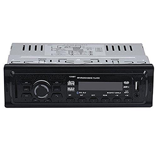 Boomboost MP3 / USB/SD/AUX in/EQ/Horloge/FM Télécommande Nouvelle Radio de Voiture de contrôle Bluetooth stéréo