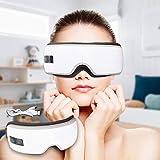 Augenmassagegerät mit Vibration, Wärmekompression und Wireless Musik, 6...