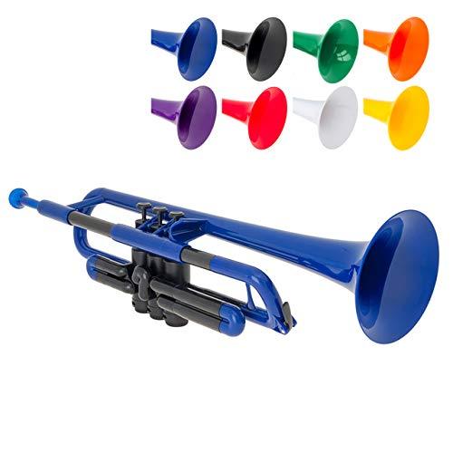 pTrumpet B Trompete blau - Kunststoff