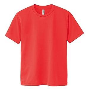 グリマー Tシャツ UVカット・吸汗速乾 ドライメッシュTシャツ4.4oz [メンズ] 蛍光オレンジ M