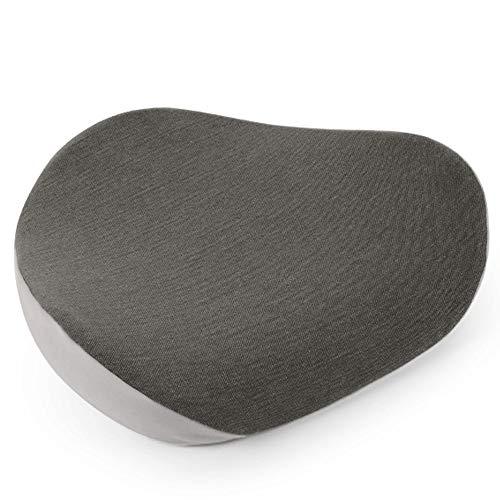 XWX Memory Foam Emorroidi Ammortizzatore di Sede di Hip Sostegno Ortopedico Cuscino Sedia da Ufficio Cuscino della Sede di Automobile Fianchi Massaggio Vertebre Cuscino (Color : A)