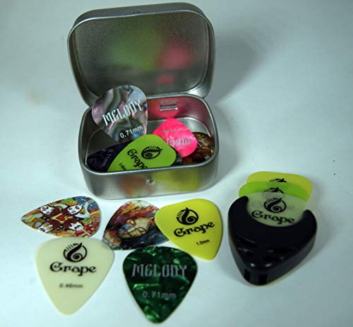 Puas guitarra - 20 Puas Picks Para Guitarra Acústica