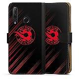 Étui Compatible avec Huawei Honor 20 Lite Étui Folio Étui magnétique Diables Rouges Produit sous...
