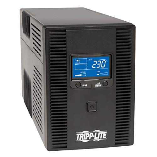 Tripp Lite Smart LCD 1500VA Tower Line-Interactive 230V UPS with LCD Display