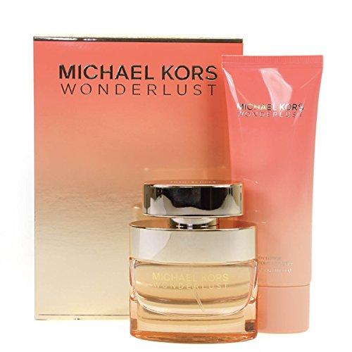 Michael Kors Wonderlust 50ml Eau De Parfum Perfume and 100ml Body Lotion Gift Set