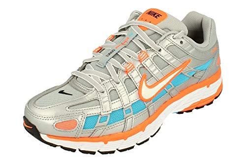 Nike Damen P-6000 Running Trainers CT3751 Sneakers Schuhe (UK 5.5 US 8 EU 39, metallic Silver White 001)