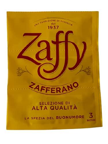 Zaffy Zafferano - Confezione da 3 Bustine 0,39gr Ideale per preparazioni salate e dolci