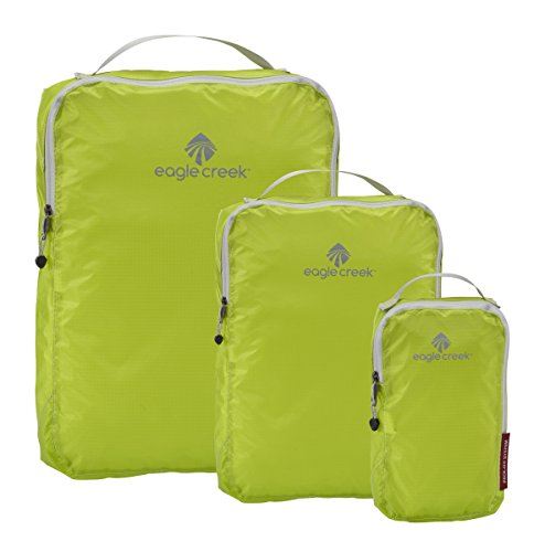 Eagle Creek Pack-It Specter Cube Set, 3-teiliges Kleidertaschen-Set, Strobe Green (Grün) - EC-41168046