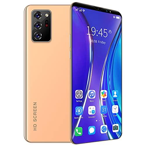 GYUO Teléfono Celular Desbloqueado de 6.1', 8GB RAM + 128GB ROM, teléfono Inteligente Android 10.1 con cámara Trasera AI, batería Grande de 4800mAh, teléfono Adecuado para Personas Mayores