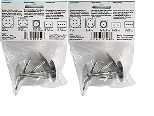 Ateco 1449 Cake Heating Core, Set of 4 (2)