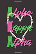 Alpha Kappa Alpha: AKA journal | Sorority Journal | Sorority Sister Journal | 6 x 9 | Blank Lined Journal