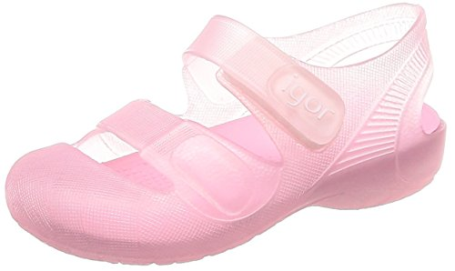 IGOR - Cangrejera Bondi Cierre Velcro Sintético Niñas Color: Rosa Talla: 21 M EU/5.5 M US Toddler