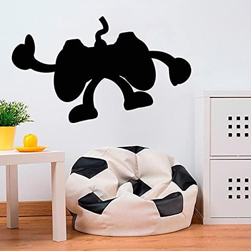 Calcomanías adhesivas de pared elige tu arma, oferta de jugador, controlador, videojuego, dormitorio, decoración de la pared, pegatina mural A7 42x25cm