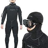 ウェットスーツ ダイビング 用 セミドライスーツ メンズ AQUALUNG アクアラング Solafx ソルアフレックス 8×7mm L
