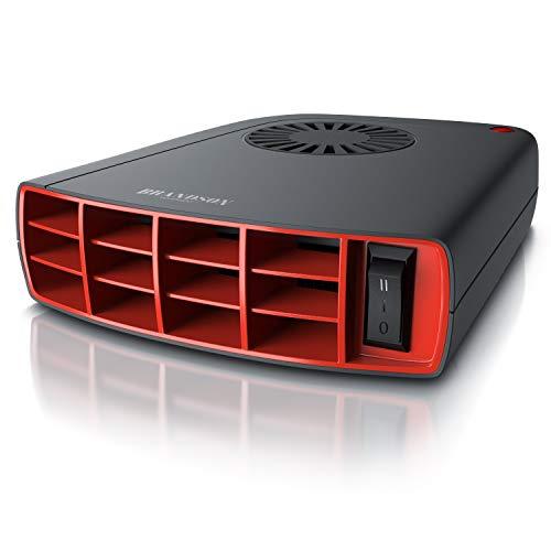 Brandson - Innenraumheizung - mobile Auto Heizung - PKW - Komfort Entfroster Standheizung Heizlüfter - 2 Heizlevel - 1400W - automatischer Überhitzungsschutz - transportabel - GS-zertifiziert