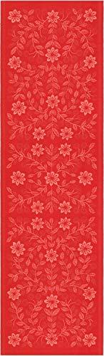 ekelund tischläufer tischdecke rödbo 35 x 80 cm 55% bio-baumwolle 45% leinen